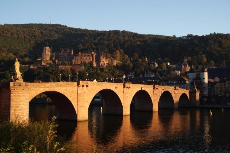 Старый мост Гейдельберга