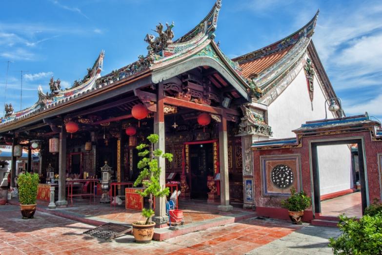 Ченг Хун Тенг - старейший китайский храм Малайзии