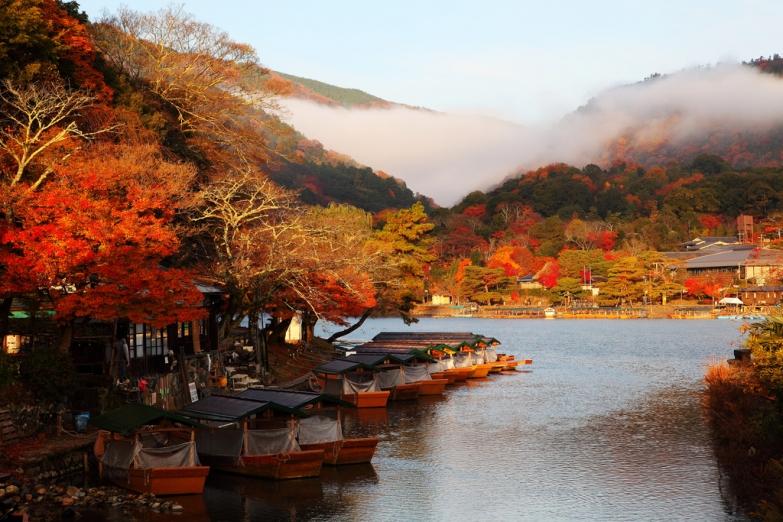 Осень на берегах реки Камо
