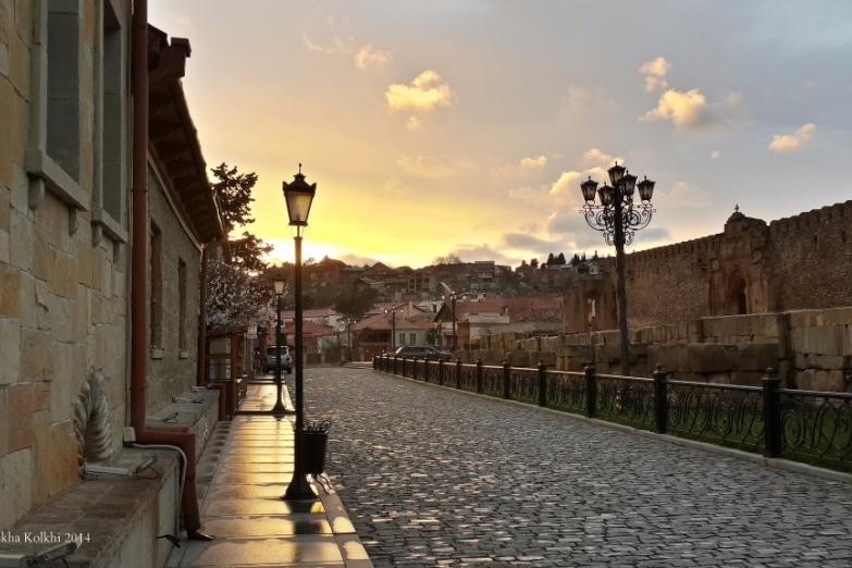 Старый город Мцхеты