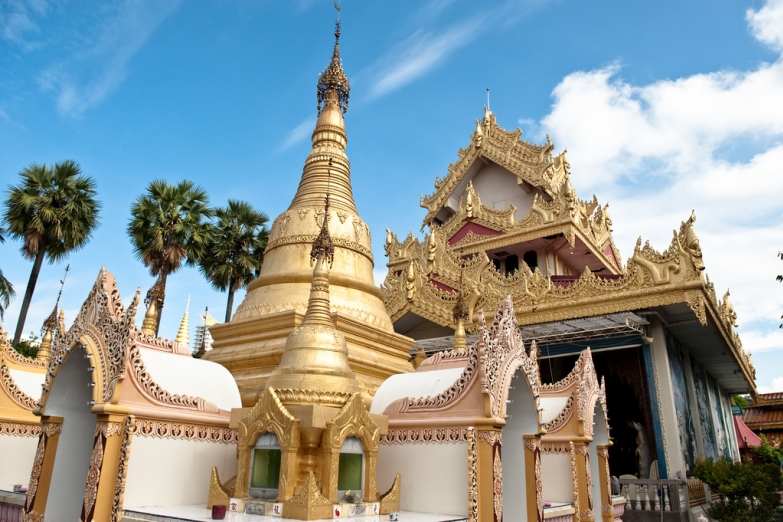 Бирманский храм Дхаммикарама