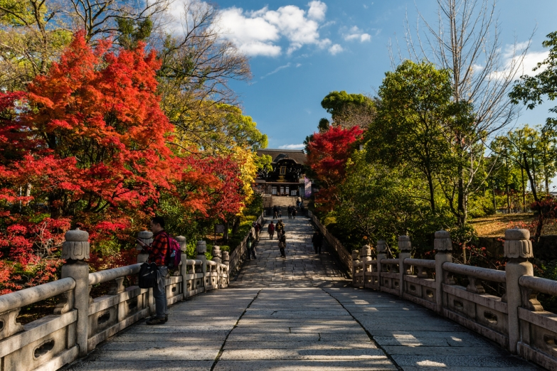 Осенний пейзаж Киото