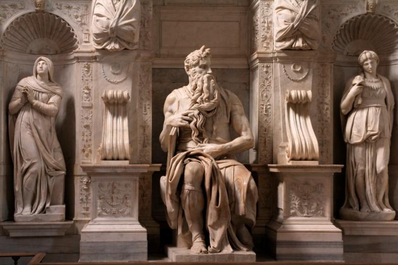Моисей работы Микелянджело