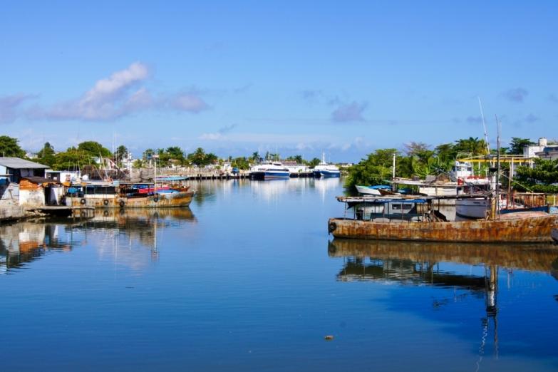 Причал на острове Хувентуд