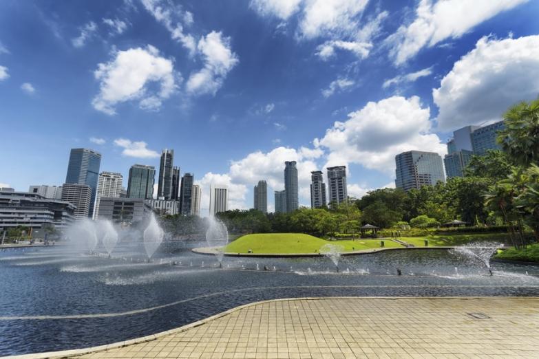 Торговый район Kuala Lumpur City Centre
