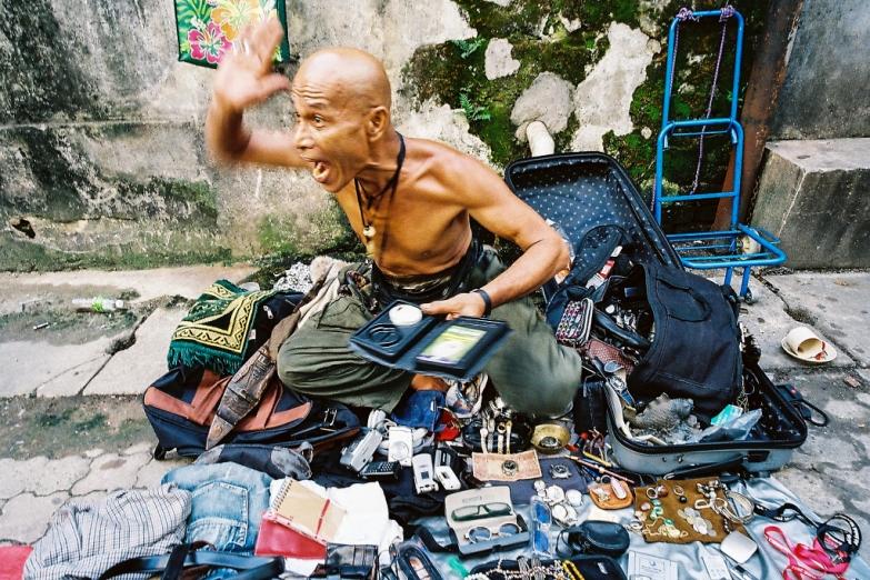 Искусство уличной торговли