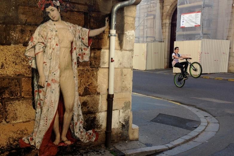 Искусство на улицах Дижона