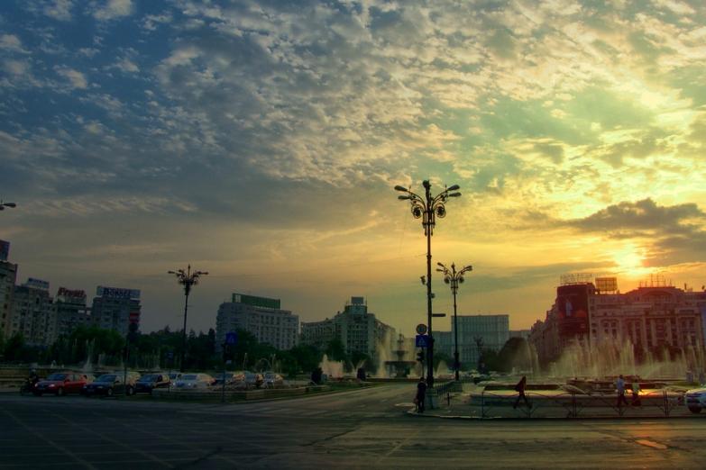 Утренний Бухарест