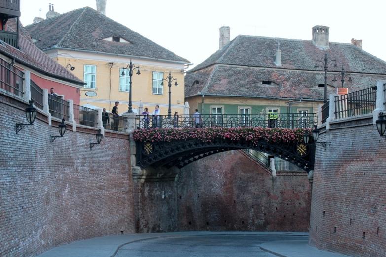 Железный мос или Мост Лжецов в городе Сибиу