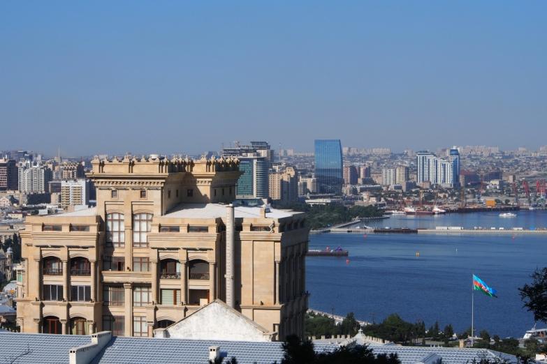 Панорама набережной Баку