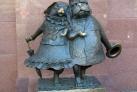 Памятник влюбленным животным в Краснодаре