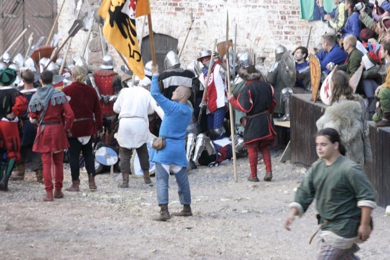 Историческая реконструкция в Выборге