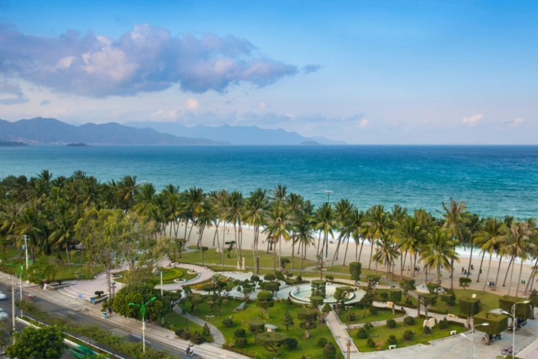 Вид на Южно-китайское море