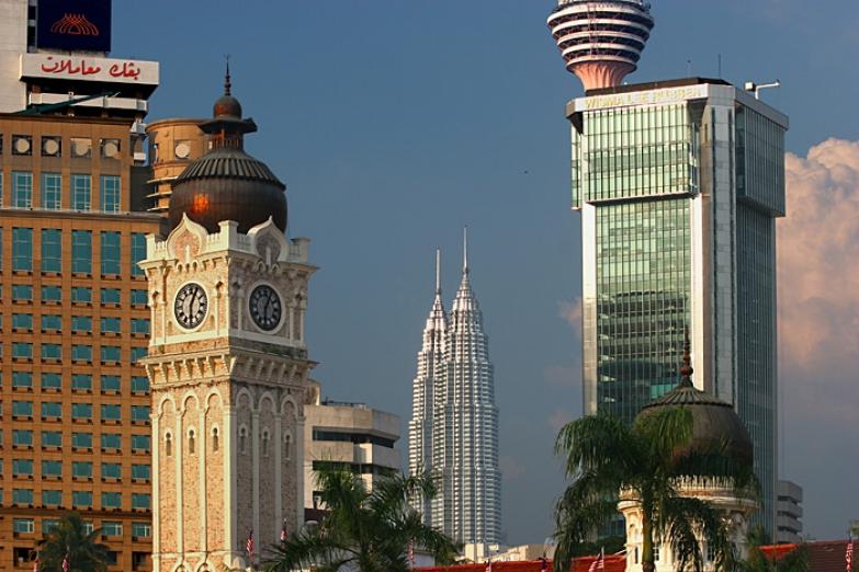 Небоскребы Куала-Лумпура
