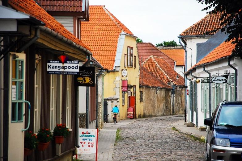Улица в Курессааре