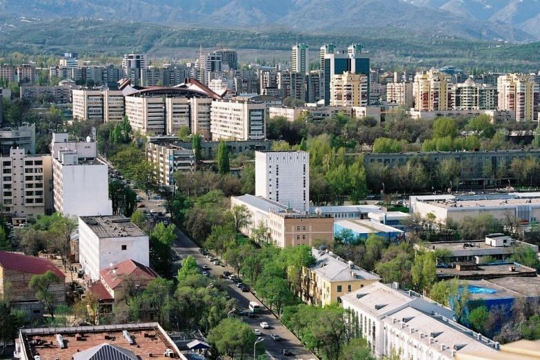Панорама на город