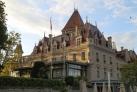 Замок Уши в Лозанне