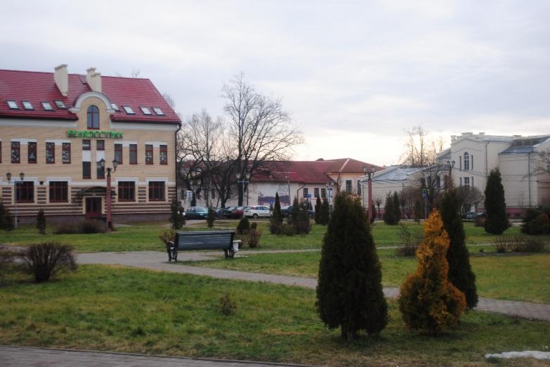 Парк в Полоцке
