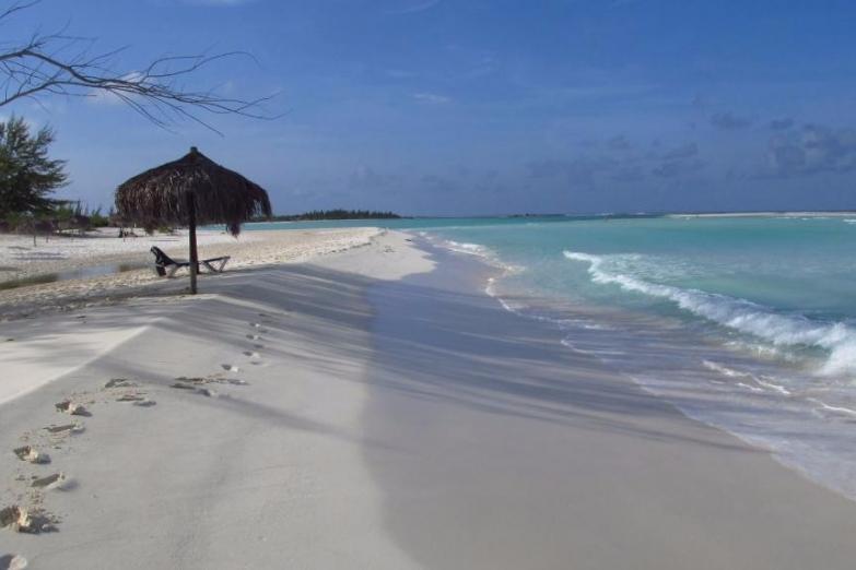 Пляж Параисо на острове Кайо-Ларго