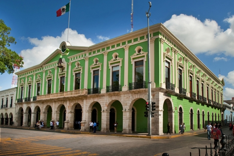 Здание правительства Юкатана