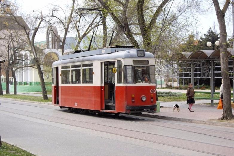 Экскурсионный трамвай