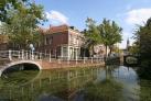 Красивые каналы и мосты Делфта