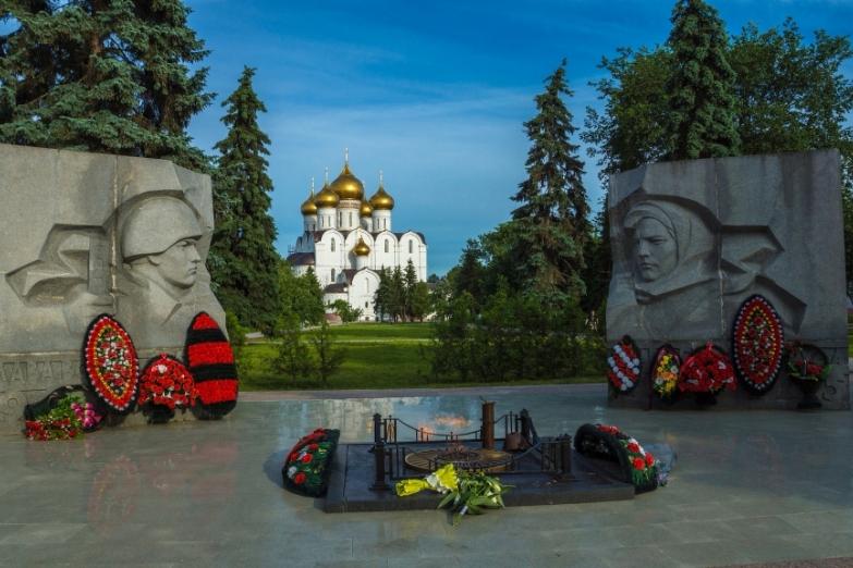 Памятник павшим в Великий Отечественной войне
