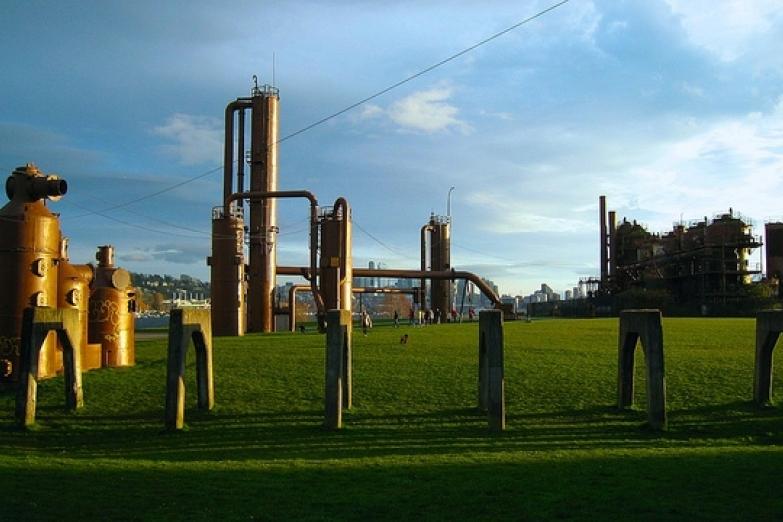 Заброшенная станция Gas Works Park