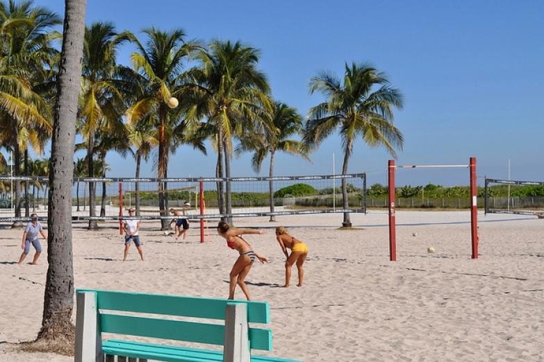 Волейбол на South Beach