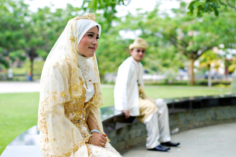 Традиционная свадьба в Путраджае