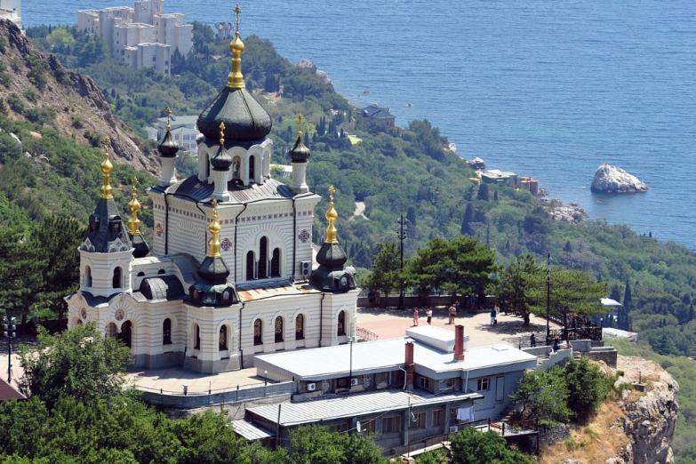 Монастырь в Форосе