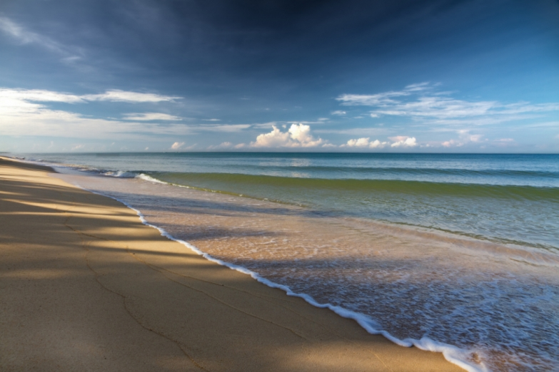 Знаменитый пляж Long Beach