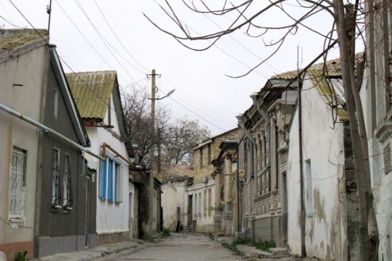 Улица в центре Евпатории
