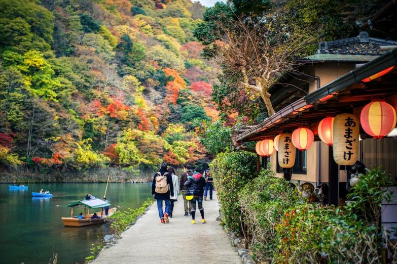 Район Арасияма в Киото