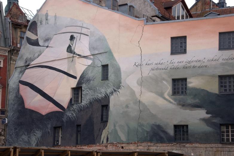 Граффити в Старой Риге