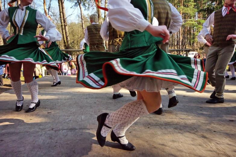Праздник песни и танца в Латвии