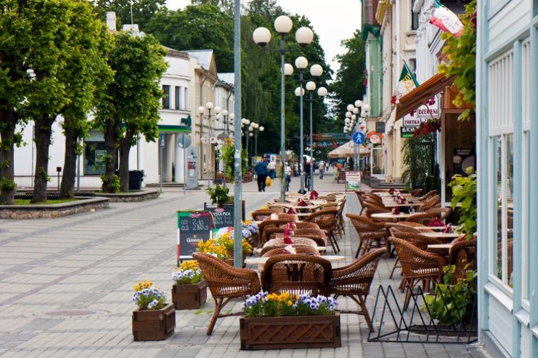Улица в Юрмале