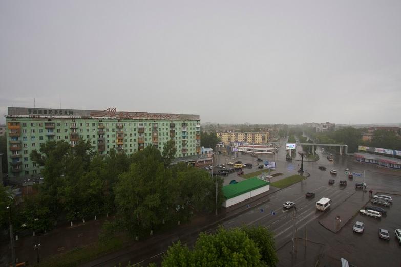 Центральные улицы Караганды