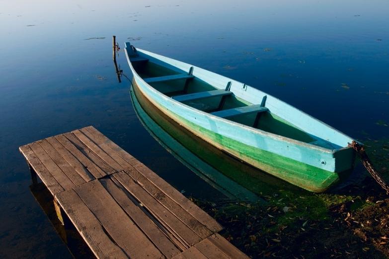 У берега Плещеева озера