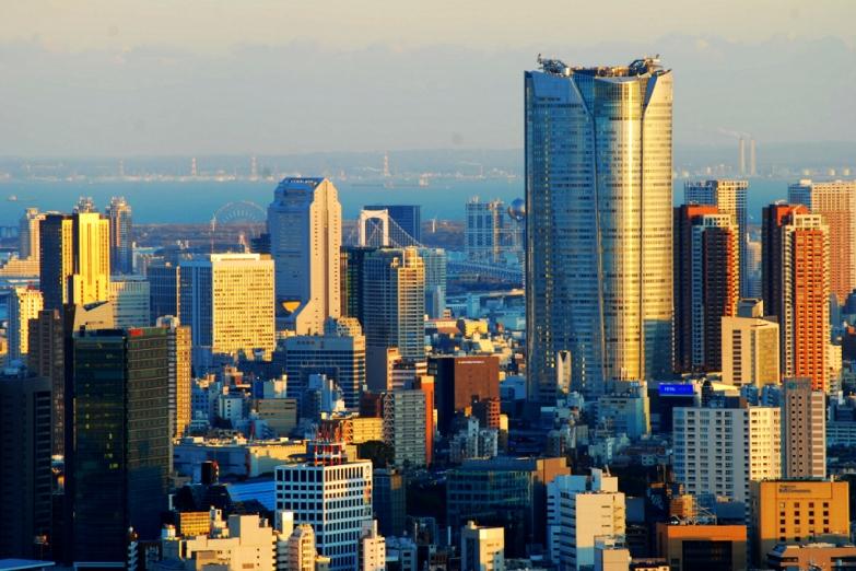 Деловой центр Токио
