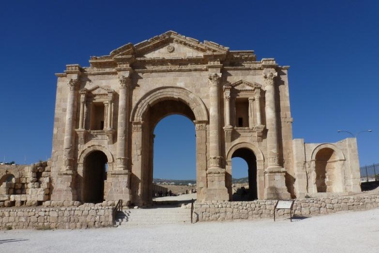 Главные ворота Джераша