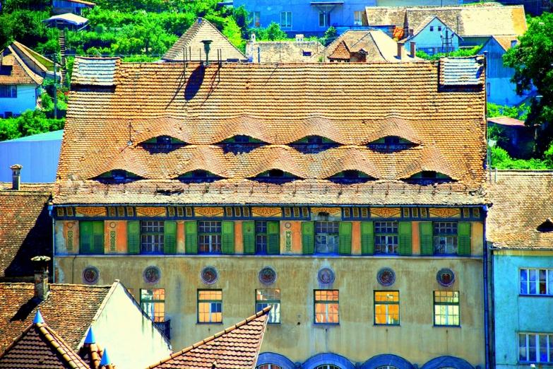 Городские крыши Сигишоара