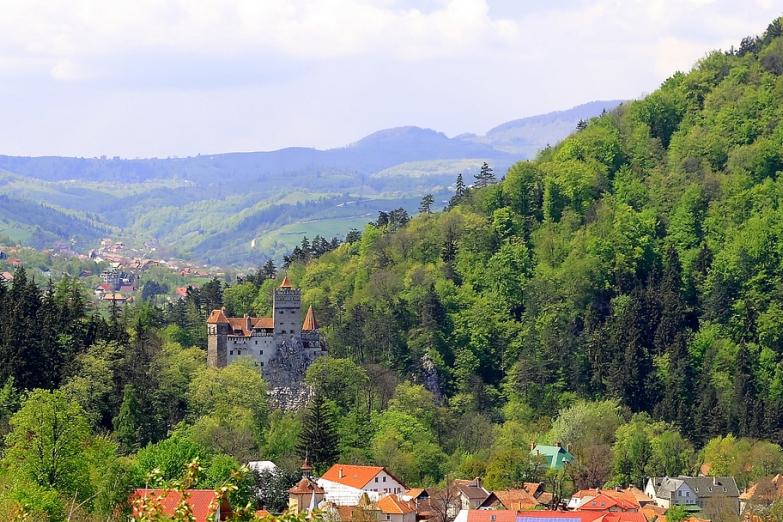 Замок Дракулы в Брашове