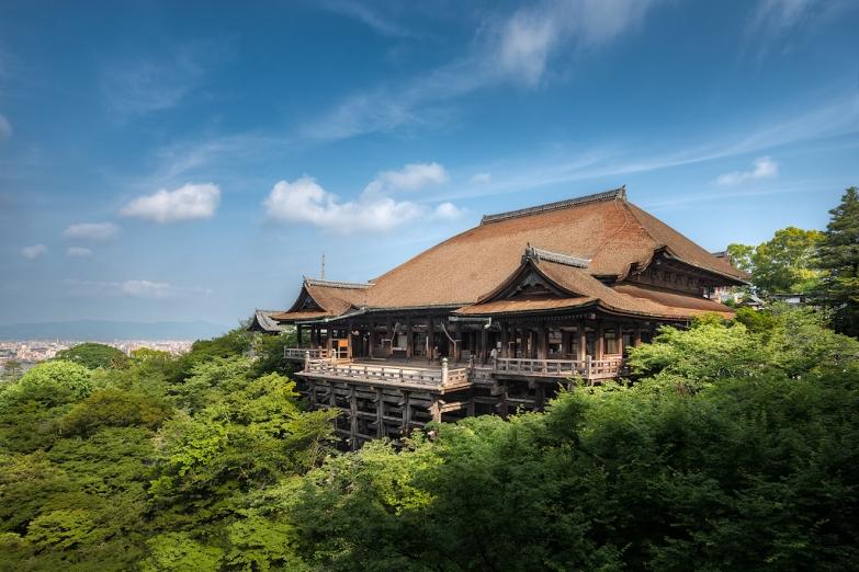 Смотровая площадка храма Киёмидзу-дэра