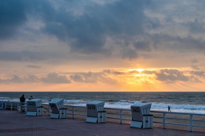 Корбы на пляже Зюльта