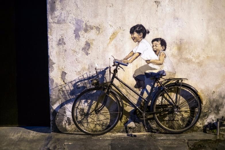 Уличное искусство Джорджтауна