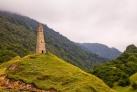 Сторожевая башня в окрестностях Грозного