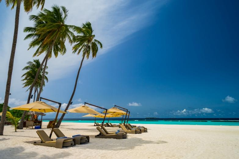 Пляж отеля Constance Halaveli