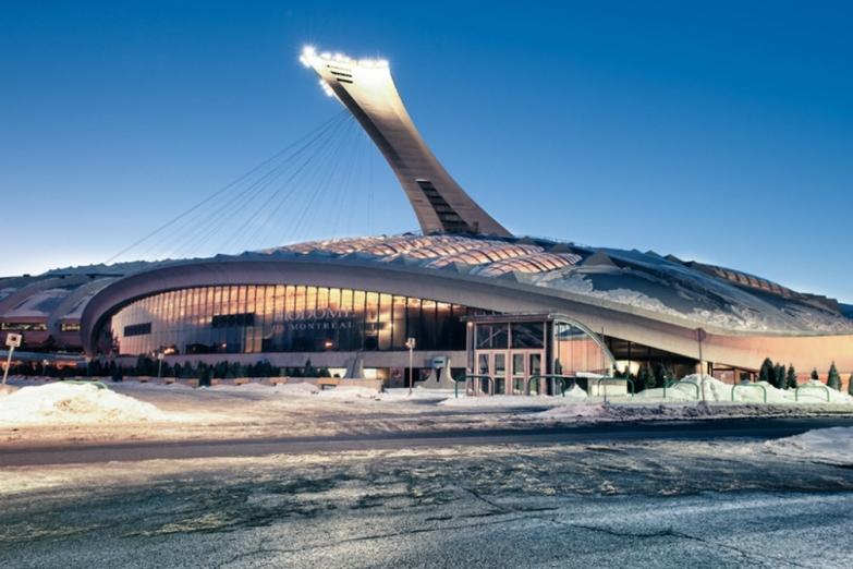 Биодом и Олимпийский стадион