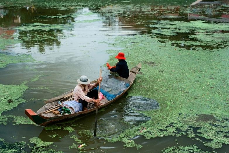 Рыбалка в пригороде Сиемреапа